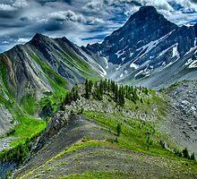 Down the Ridge by Justin Atkins