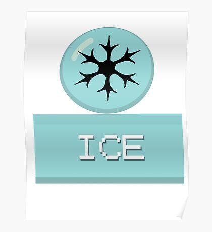 Pokemon Types-Ice Poster