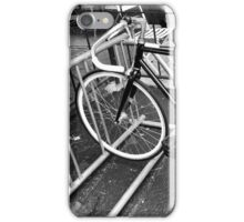 Black and White Fixie iPhone Case/Skin