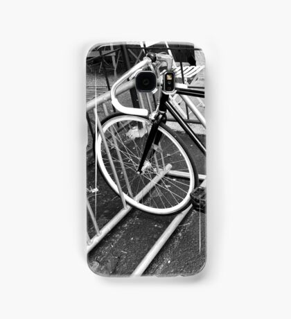 Black and White Fixie Samsung Galaxy Case/Skin