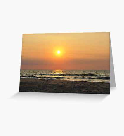 Sunrise in Salvo Greeting Card