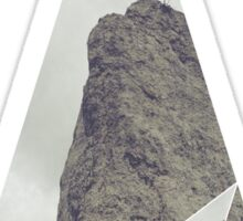 Geometric Rock Sticker