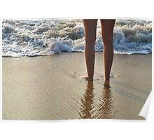 Dipping Your Toes Poster
