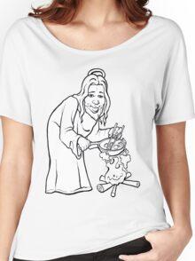 Jesus Woks Women's Relaxed Fit T-Shirt