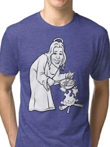 Jesus Woks Tri-blend T-Shirt