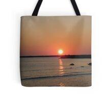 Sunrise on Block Island Tote Bag
