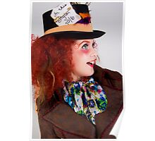 The Mad Hatter - Urban Alice Poster