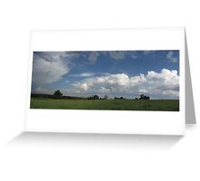Where Heaven and Earth Meet - First in Series Greeting Card