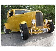 Antique Automobile Poster