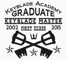 Keyblade Academy Graduate One Piece - Long Sleeve
