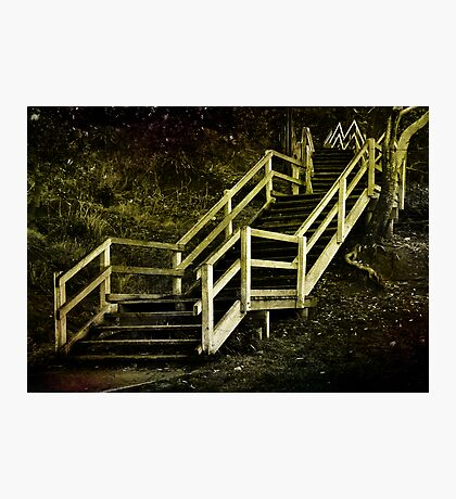 Stairs to Redcliffe. Queensland. Australia. Photographic Print