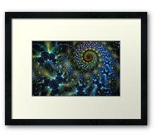 firefly dance Framed Print