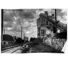 Cement Plant Poster