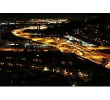 Colorado Springs at Night Photographic Print