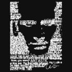 The Ninth Doctor Word Art by Chris Carruthers