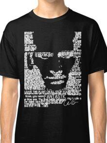 The Ninth Doctor Word Art Classic T-Shirt