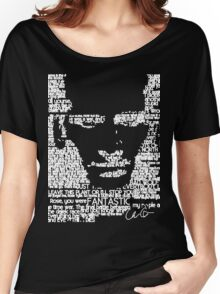 The Ninth Doctor Word Art Women's Relaxed Fit T-Shirt