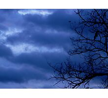Troubled Skies Photographic Print