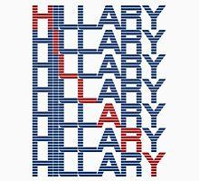 hillary clinton text stacks Unisex T-Shirt