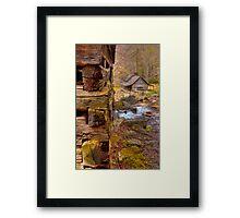 Noah Ogle cabin Framed Print