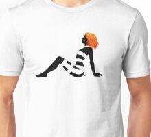 Leeloo Dallas Mudflap (mirror) Unisex T-Shirt