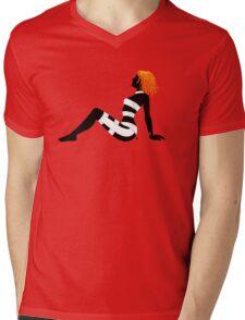 Leeloo Dallas Mudflap (mirror) Mens V-Neck T-Shirt