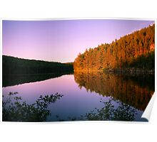 Before the dusk, Algonquin Park, Canada Poster