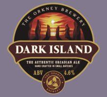 Dark Island Beer Label Kids Clothes