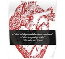 Edgar Allan Poe - Telltale Heart Poster