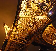 Eiffel Tower Below by sezice