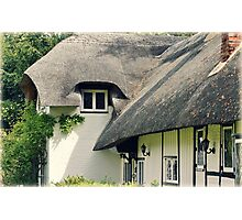 Old Thatch, Bourne End Photographic Print