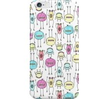 Spooky Monsters iPhone Case/Skin