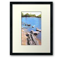 Stone Bridge - Belair National Park  Framed Print