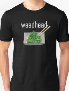 weedhead. (seaweed) <white text> Unisex T-Shirt