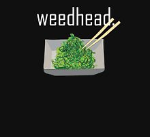 weedhead. (seaweed) <white text> Women's Fitted Scoop T-Shirt