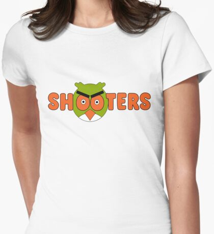 Shooters Womens Fitted T-Shirt
