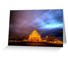 ANZAC War Memorial Greeting Card