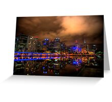 The Yarra River in Melbourne Greeting Card