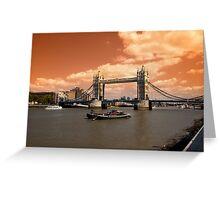 Londons Burning Greeting Card