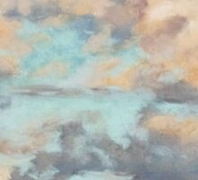 Pastel Clouds - Balmoral NSW Sticker