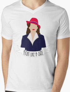 "P. Carter: ""Fight like a Girl."" T-Shirt"