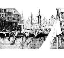 Fishing boats Photographic Print