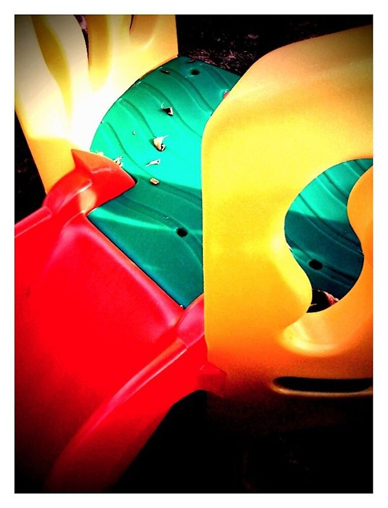 Multi coloured slide by Malcee
