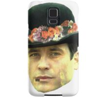 Thomas Barrow Flower Crown Samsung Galaxy Case/Skin