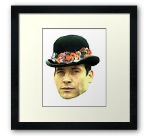 Thomas Barrow Flower Crown Framed Print