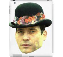 Thomas Barrow Flower Crown iPad Case/Skin