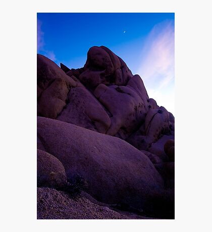 Monolith at Dusk, Joshua Tree Photographic Print