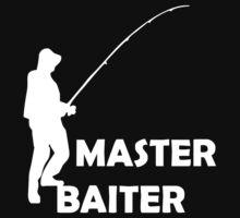 Master Baiter Mens Rude Fishing Kids Clothes
