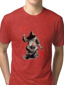 Love Over Money Tri-blend T-Shirt