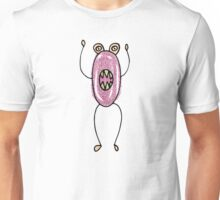 Spooky Monsters - tall grape Unisex T-Shirt